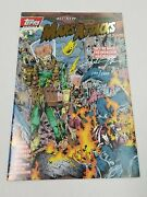 Mars Attacks Topps 1 Gold Foil Comic Signed Keith Giffen Coa 100/1000 9.6 / 9.8