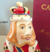 Dept 56 Candle Crown Snuffer King Of Hearts Alice In Wonderland New In Box