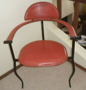 1960and039s Marylin Stiletto Red Accent Chair By Arrben Designs Sexybeautifulrare