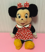 Walt Disney Minnie Mouse Sun And Star Plush Toy 1990s Vintage H15 Made In Japan