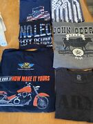 Jeep John Deere Cow Mixed Lot Womenandrsquos Tshirts Sm-med