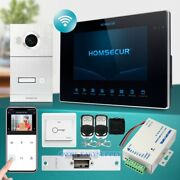Homsecur 7 Wired Wifi Video Door Entry Security Intercom Support Digital Frame