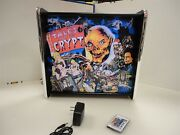 Tales From The Crypt Data East Pinball Led Backglass Display Light Box