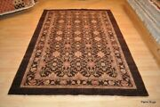 5and039 X 7and039 Top Quality Seal Brown Handmade 100 Vegetable Dye Natural Color Rug.