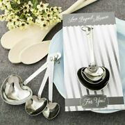 20-100 Heart Shaped Measuring Spoons - Wedding Shower Party Favor