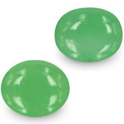 Colombia Emeralds 14.04 Cts Natural Lively Green Oval