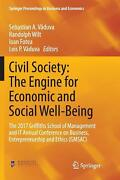 Civil Society The Engine For Economic And Social Well-being The 2017 Griffiths