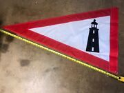 Historically Accurate Lighthouse Service Pennant