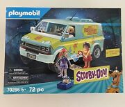 Brand New Playmobil 70286 Scooby Doo Mystery Machine With Fred, Daphne And Velma