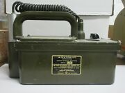 Us Navy Im-74/pdr-27c Radiacmeter 1953 Geiger Counter Functionality Unknown