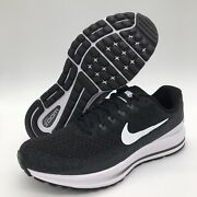 Nike Air Zoom Vomero 13 Menand039s Running Shoes Black White 922908 001 Multi Sizes