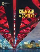 Grammar In Context 2 Paperback By Elbaum Sandra N. Like New Used Free Shi...