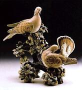 Lladro Rare+incredibly Captivating Turtle Doves01011240limited Edition-signed