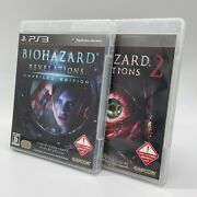 Ps3 Biohazard Revelations 2 And Unveiled Edition Resident Evil 2 Set Japan Game