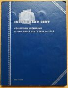 1856 - 1909 Indian Head/flying Eagle Cent Book - Partial Set 39 Coins