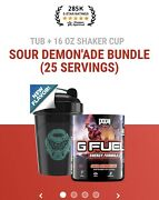 G Fuel Sour Demon' Ade Bundle In Hand Ready To Ship Usps First Class