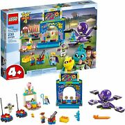 Lego Disney Toy Story 4 Buzz And Woodyandrsquos Carnival Mania 10770 Building Kit 230pcs