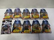 10 2005 Star Wars Revenge Of The Sith Figures With Kit Fisto And Chewbacca