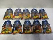 10 2005 Star Wars Revenge Of The Sith Figures With Battle Droid And Tarfful