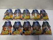 10 2005 Star Wars Revenge Of The Sith Figures With Battle Droid And Clone Troope