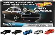Hot Wheels Fast And Furious Full Force 5 Premium All-metal Vehicles Apr.1521