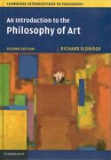 Introduction To The Philosophy Of Art Hardcover By Eldridge Richard Brand ...