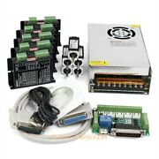Cnc Kit 5 Axis Nema08 4.17oz-in Stepper Motor 24v Psu For Mill/router/engraving