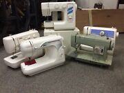 Singer Brother Kenmore Janome 5 Home Sewing Machines Total For Parts Or Repair