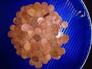 Indian Head Pennies Lot. Wells And Fargo Bag With 305 Indian Head Pennies Inside
