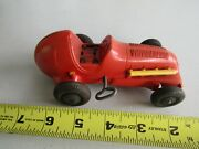 Vintage Toy Indy Style Race Car Racing Plastic Marx Windup Wind Up