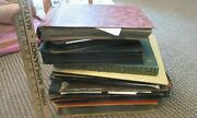 Huge Lot 10 Old Photo Albums 1,961+ Pictures 1920s-1940s Vintage Named Family Id