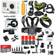 Gopro Hero High Definition Camcorder W/ 40 Pcs Accessories Kit + Waterproof Case