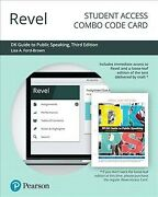 Revel For Dk Guide To Public Speaking -- Combo Access Card Hardcover By Ford...
