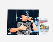 Ice-t Signed 8x10 Photo Body Count Gangster Rap Hip Hop Pioneer Jsa Certified