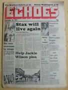 Various Soul Black Echoes Magazine September 24 1977 Stax/jackie Wilson/delroy W