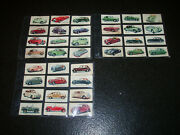 Complete Set Kelloggs Motor Cars In Colour 40 Cards C1949
