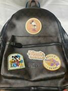 Coach X Disney Backpack Minnie Mouse Signature Genuine Outlet With Bags