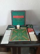 Vintage Scrabble Deluxe Edition 1988 With Electronic Timer By Spears Games