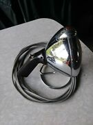 Antique Unity S6 Rare 115v Ac Plug Spotlight With Stand Vintage Workand039s Great
