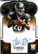 Leand039veon Bell 2013 Panini Crown Royale Autographed Rookie Card 3/49