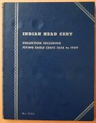1856 - 1909 Indian Head/flying Eagle Cent Book 30 Coins