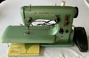 Nordic Husqvarna Sewing Machine Sweden Marked For R.c.m.p. Operation Id. Works