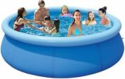 Pugmiia Above Ground Swimming Pools For Adults - 12ft X 30in Outdoor