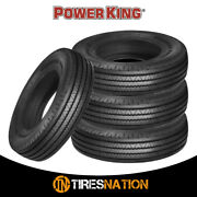 4 New Power King Radial F/p 225/90r16 127l Tire