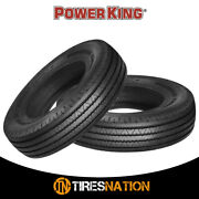 2 New Power King Radial F/p 225/90r16 127l Tire