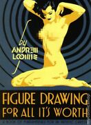Figure Drawing For All It's Worth Hc By Andrew Loomis 1-rep Nm 2011 Stock Image