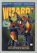 Wizard The Comics Magazine 1p Centerfold Poster Variant Fn 6.0 1991