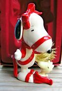 Lenox With Love From Snoopy Christmas Ornament New In Box Peanuts Woodstock