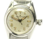 There Is Translation Rolex Oyster Lidan Dial Hand-wound Women 's Secondhand Ev10