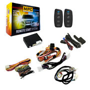 2-way Remote Start Kit W/keyless Entry For 2007-2012 Nissan Sentra - T-harness